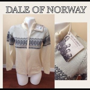 Dale of Norway Hovden Fem Jacket Zip Up Sweater